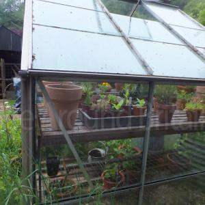 garden outbuildings near the house